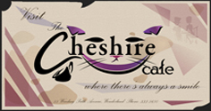 Cheshire Cafe card