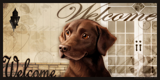 Chocolate Lab 2_Welcome sign 2 v3